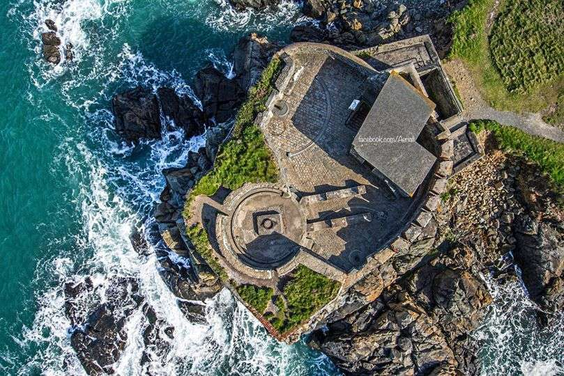 Fort Doyle, Guernsey (photo credit: Aerial-i)