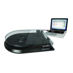 Turntable kit to turn your records into MP3 tracks