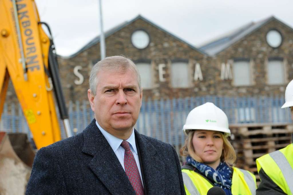 Prince Andrew by Pete Dewhurst