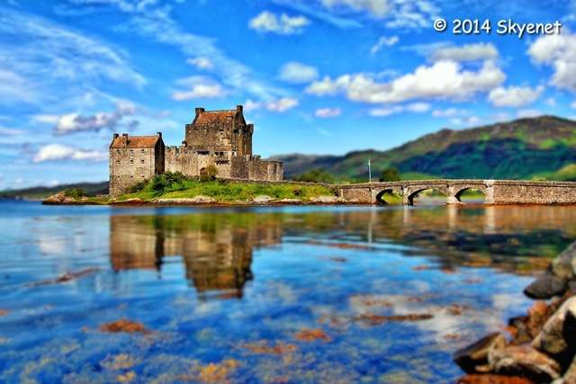 Eileen Donnan Castle, edited with Macphun Intensify Pro and Focus 2 Pro by Iain Ferguson
