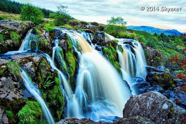 The stunning Loup of Fintry waterfall in full flow by Iain Ferguson