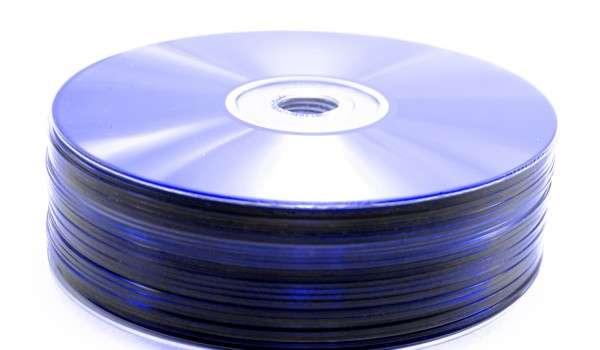 A pile of blue DVDs (graphicstock.com)