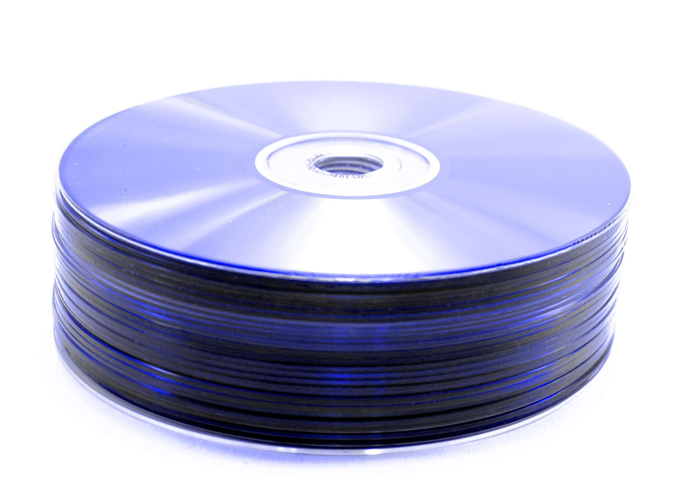 A pile of blue DVDs (graphicstock.com)