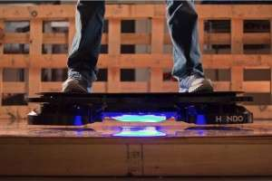 The real-life HOVERBOARD - click here to read more (photo credit: Hendo Hover)