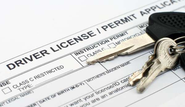 Driver license application (photo credit: Graphicstock)