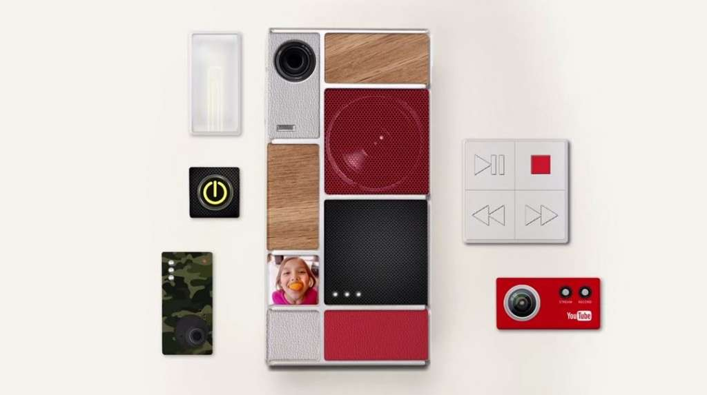A screen grab of YouTube video - Project Ara: Part of it (Credit: Google ATAP, YouTube)