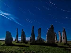 Callanish Startrails