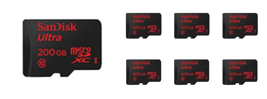 Sd Card Sizes >> World S Highest Capacity Microsd Card 200gb 7dayshop Blog