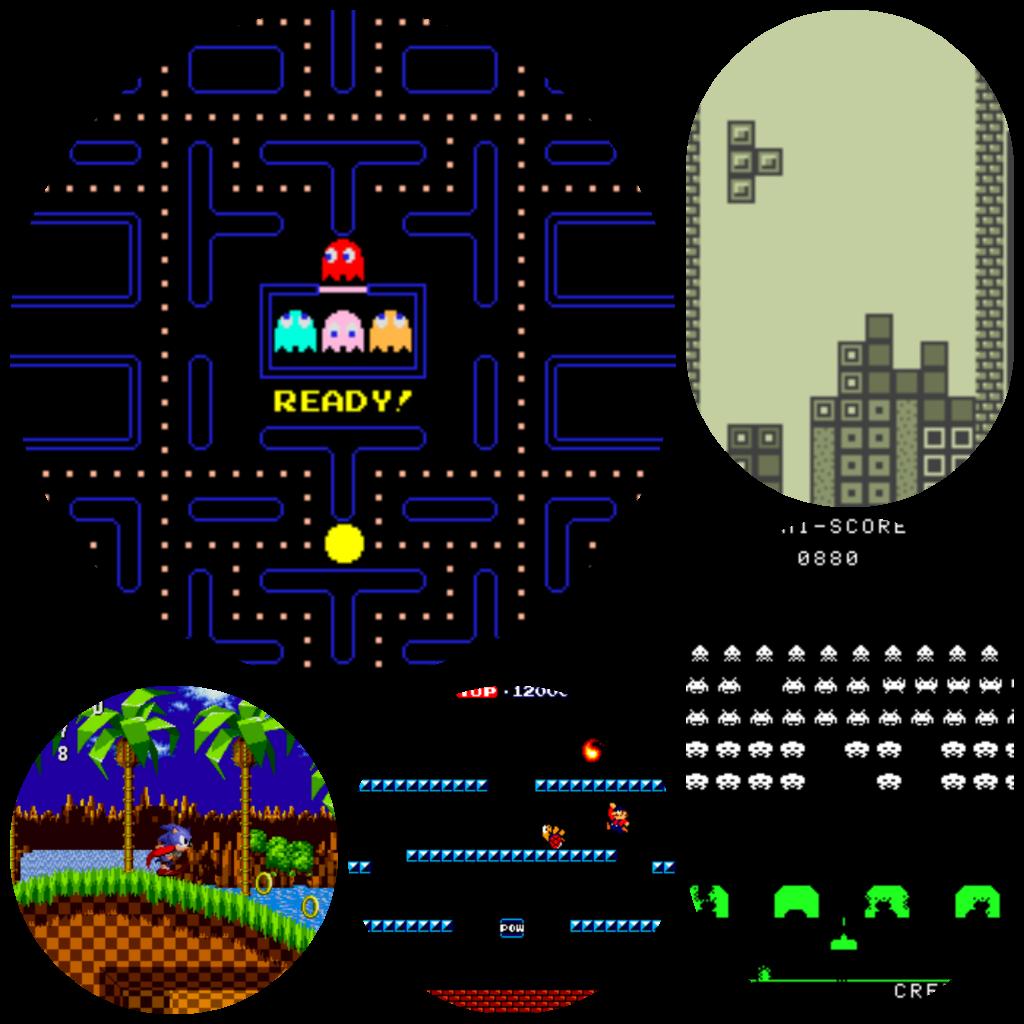 5 Classic Video Games V2