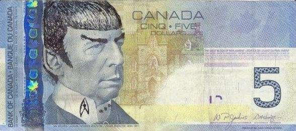 A defaced Canadian $5 note (Twitter/Design Canada)