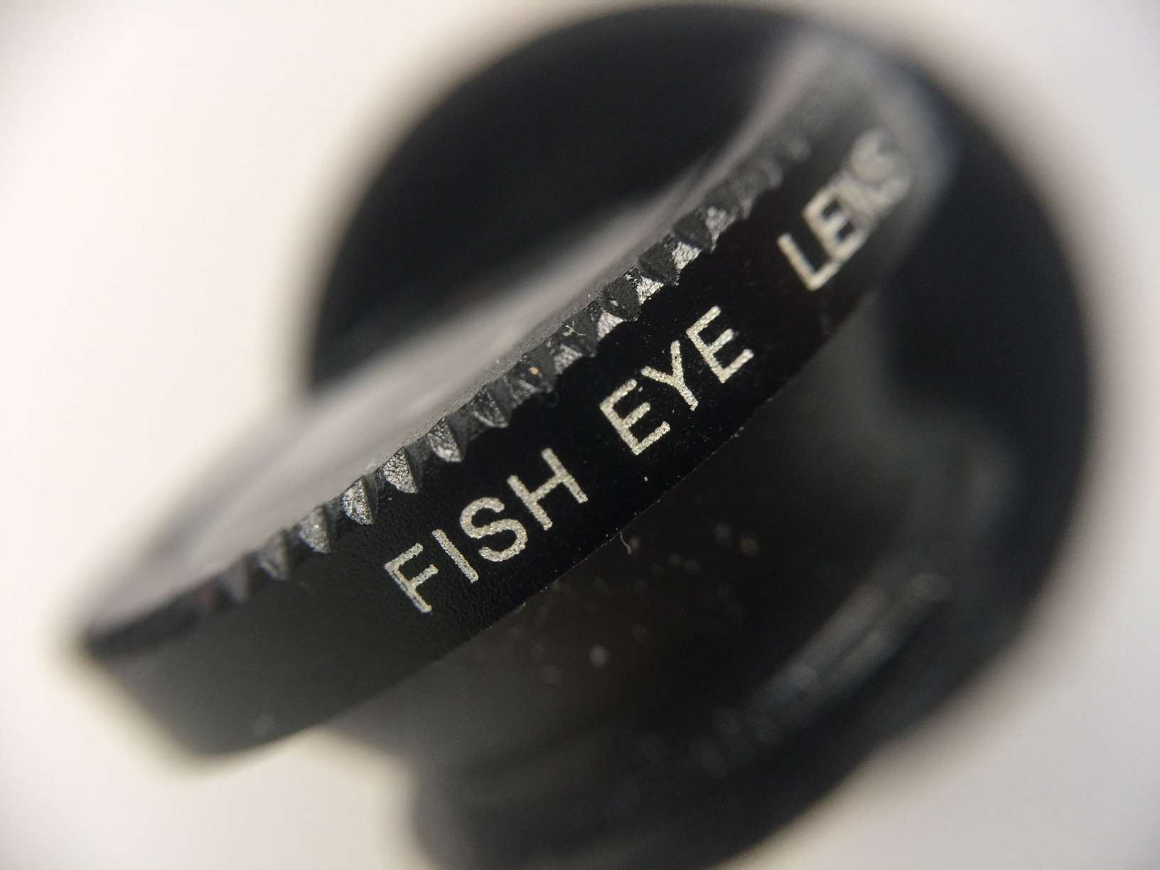 Fish Eye lens taken using a clip-on macro lens on an iPhone 6 Plus (7dayshop.com)
