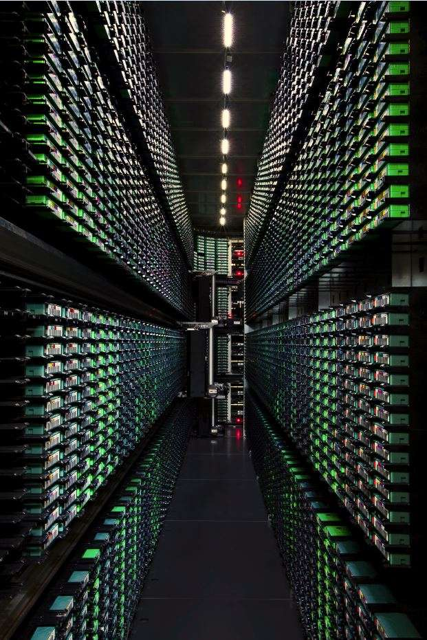 A google data centre berekely back up