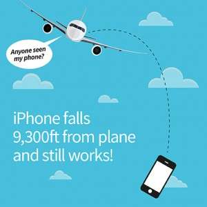iSurvive: iPhone still works after 9,300ft fall from plane