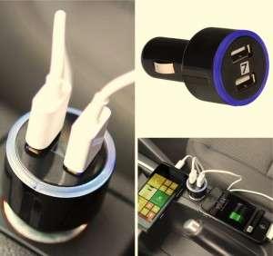 7dayshop dual USB car charger b