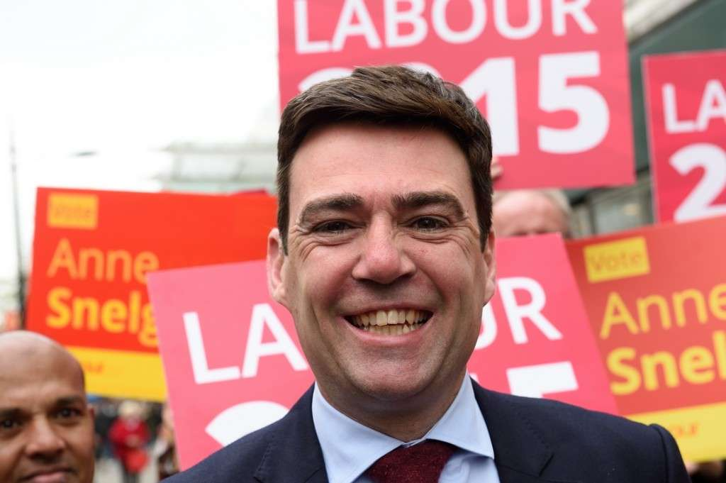 Andy Burnham Pete Dewhirst