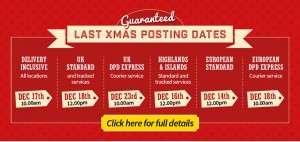 last posting dates