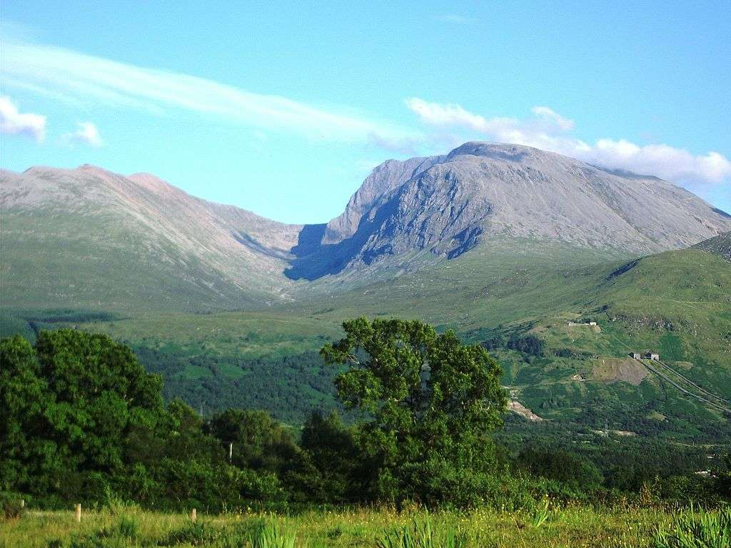 Ben Nevis (Photo credit: Thincat [Public domain], via Wikimedia Commons)