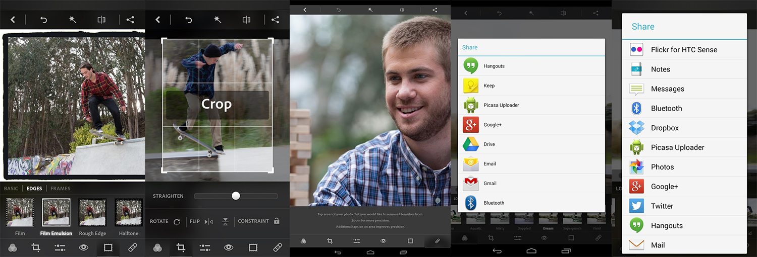Adobe Photoshop Express for Android