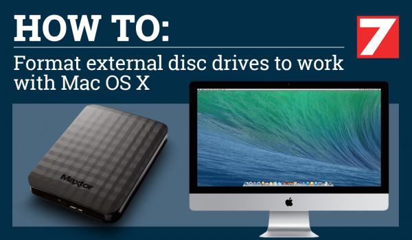 How to format a drive for an Apple Mac