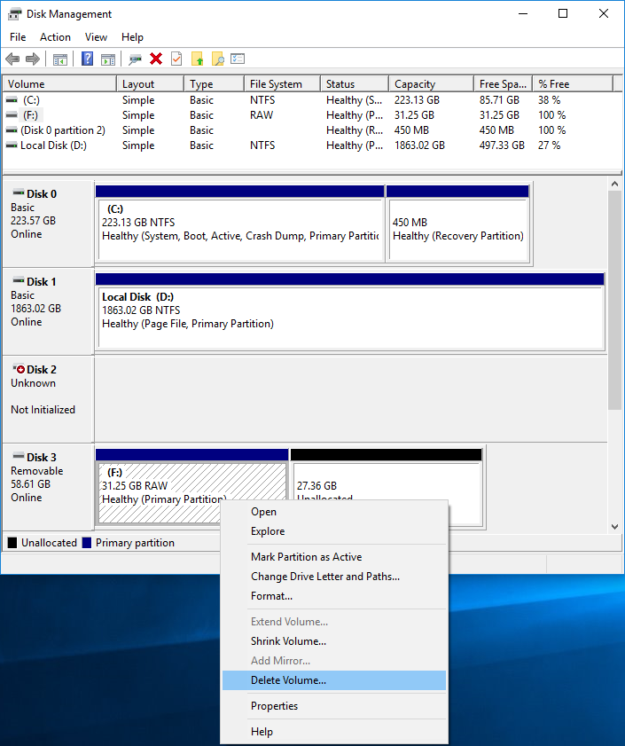 deleting-a-partition-or-volume