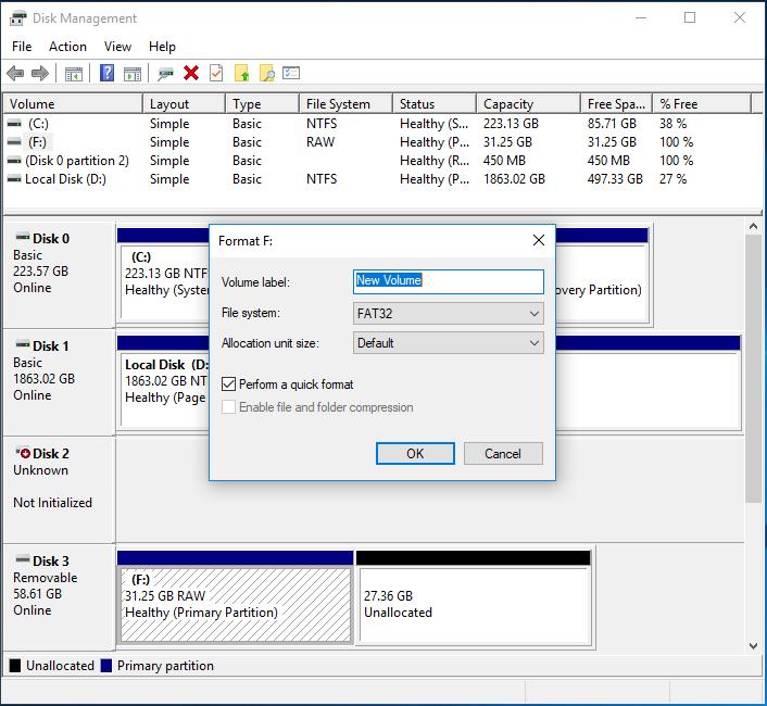 formatting-a-partition