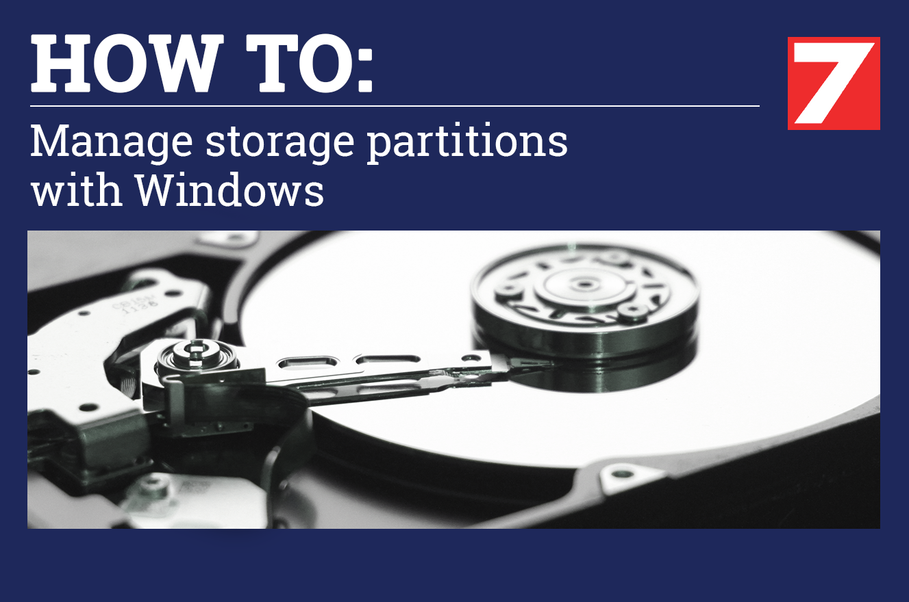 How to Create, Manage Delete and Resize Disc Storage Partitions on Windows