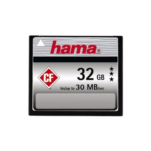 MM & SD Cards Hama Compact Flash (CF) Memory Card - UDMA 6 (30MB/s) - 32GB
