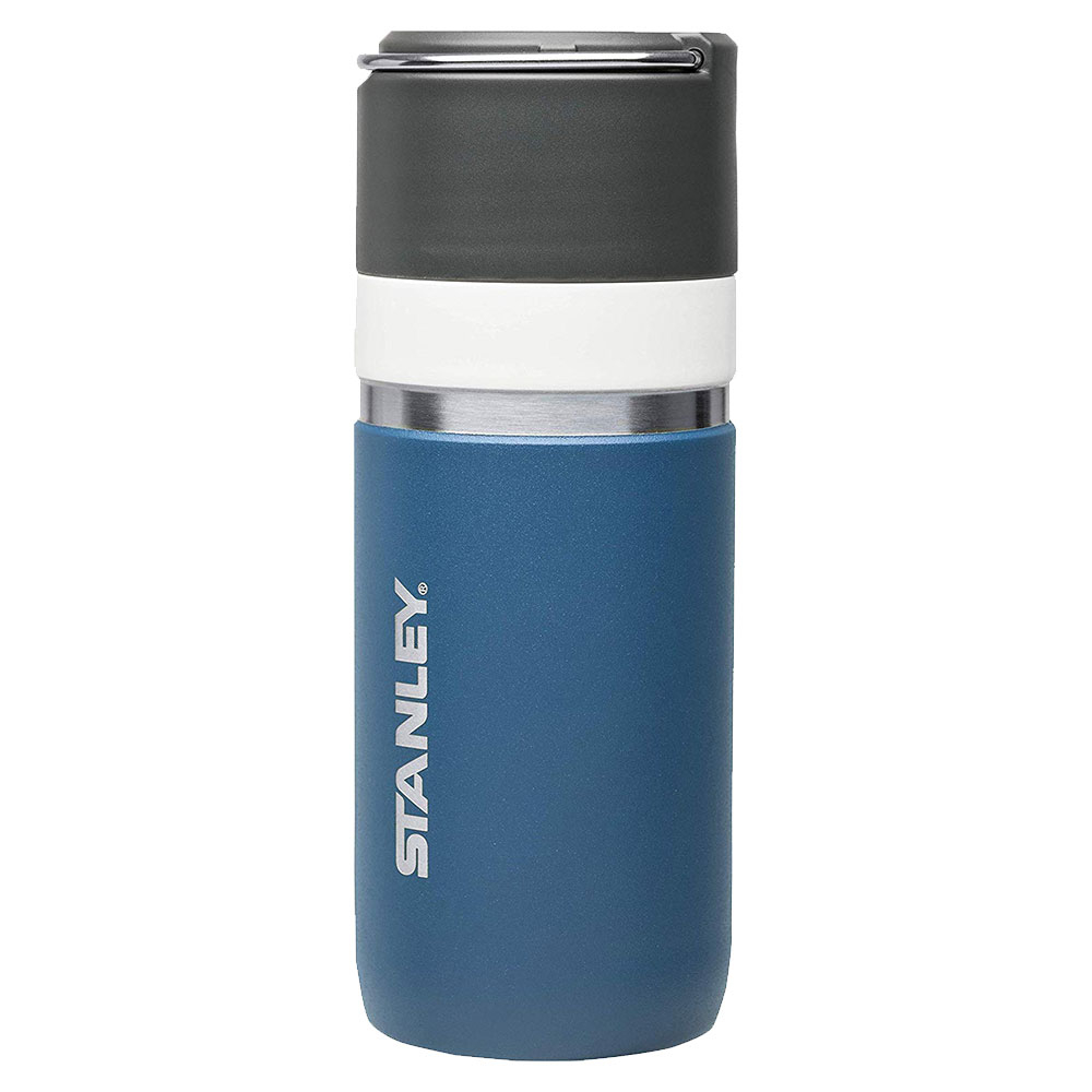 Stanley Ceramivac GO Stainless Steel Double-Wall Vacuum Flask Insulation Bottle 0.47L - Tungsten