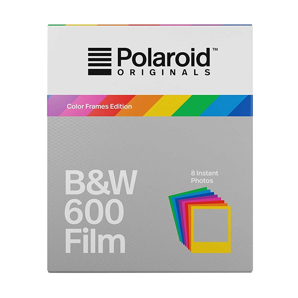 Polaroid 600 Black And White Instant Film With Color Frame 8 Shot