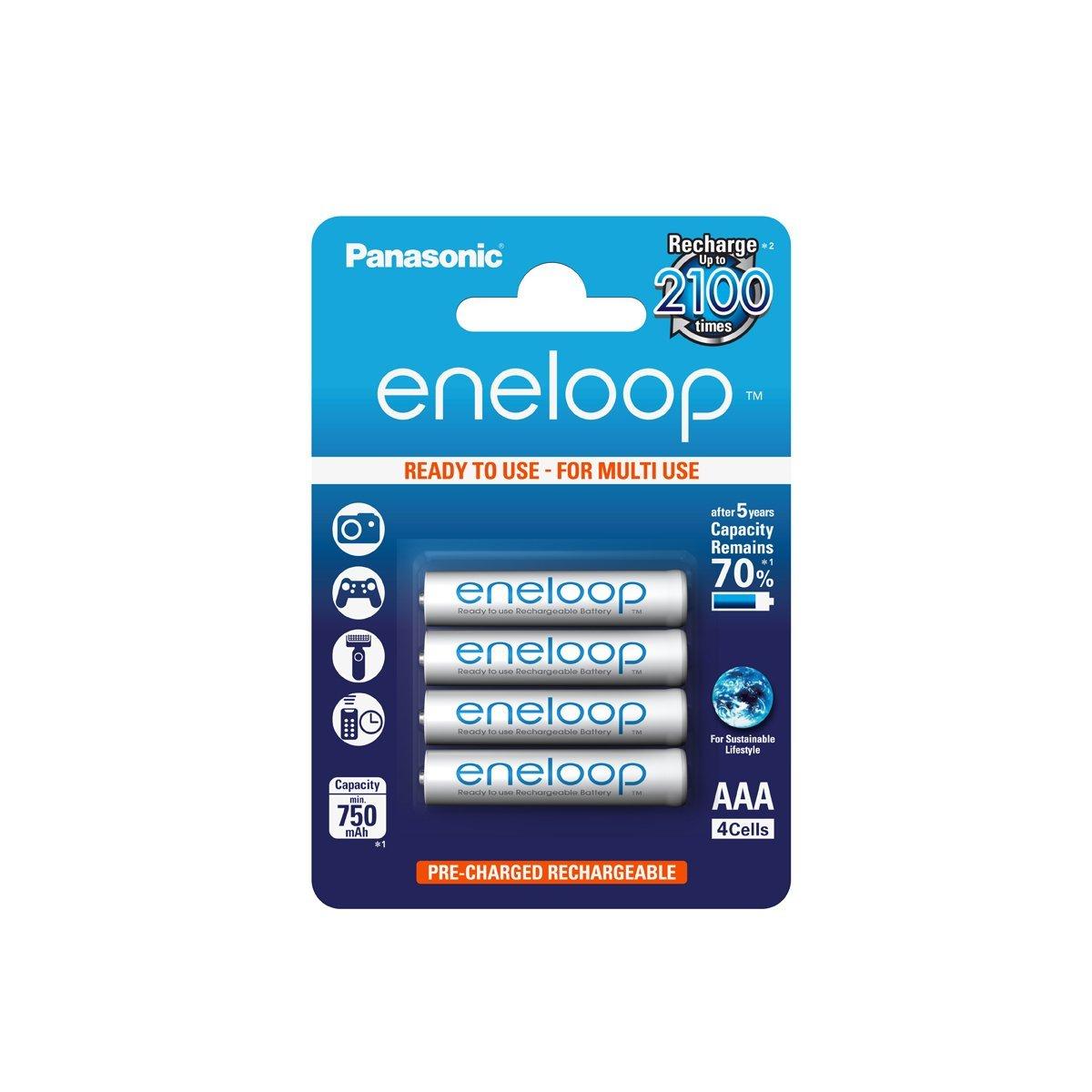 Panasonic Eneloop AAA 4 Pack
