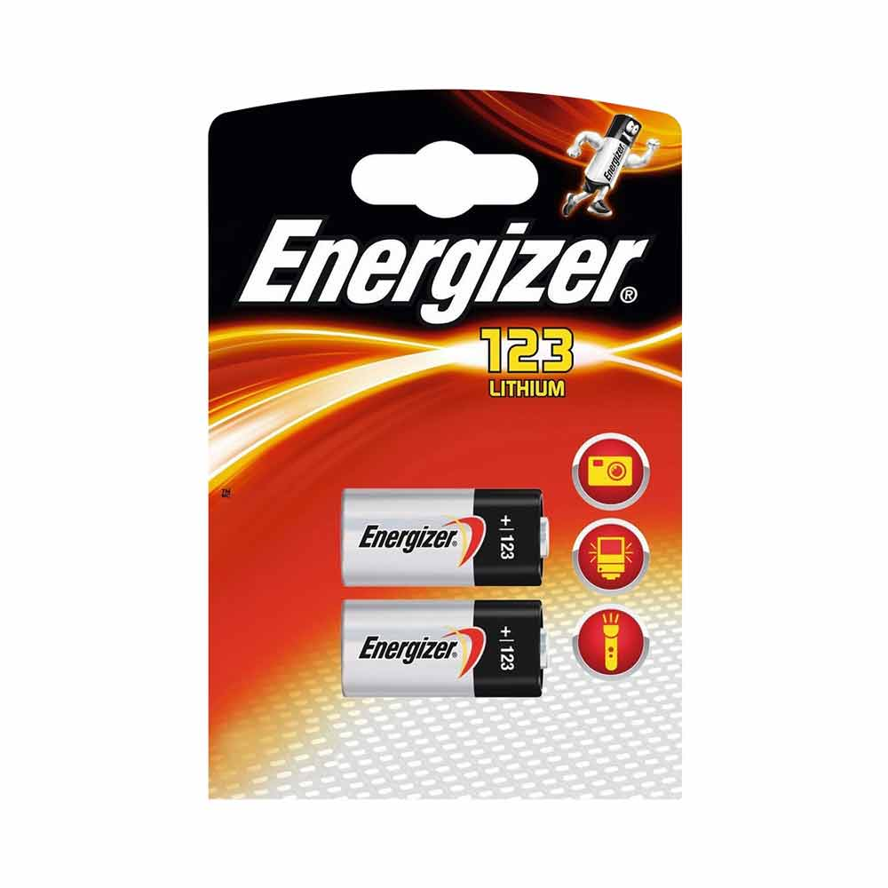 Energizer CR123A CR123 123 3v Lithium Photo Battery x 2 lowest price