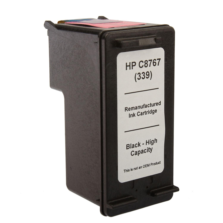 7dayshop ReManufactured HP C8767EE Black Inkjet  Print Cartridge (No.339)