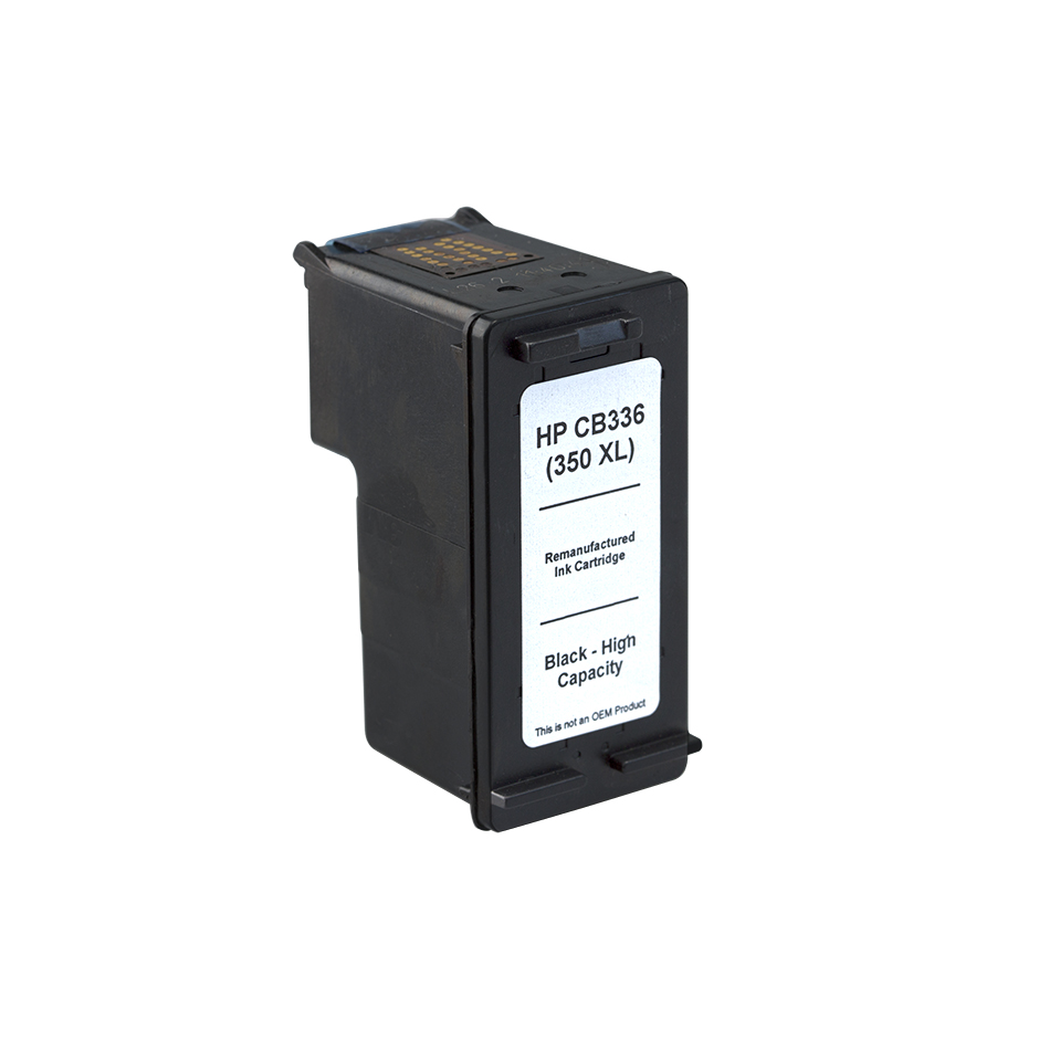 7dayshop Remanufactured HP CB336EE Black HighCapacity Inkjet  Print Cartridge (No.350Xl)