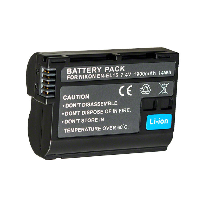 7dayshop Compatible EN-EL15 Camera Battery - 1900mAh for Nikon