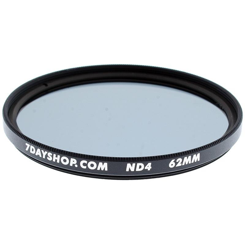7dayshop Lens Filter  Neutral Density ND4  62mm