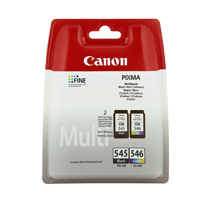 Canon Original PG-545    CL-546 Combo Pack