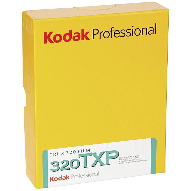 "Kodak Tri-X Pan 320 TXP Professional 4x5"" Sheet Film - 50 Sheets lowest price"