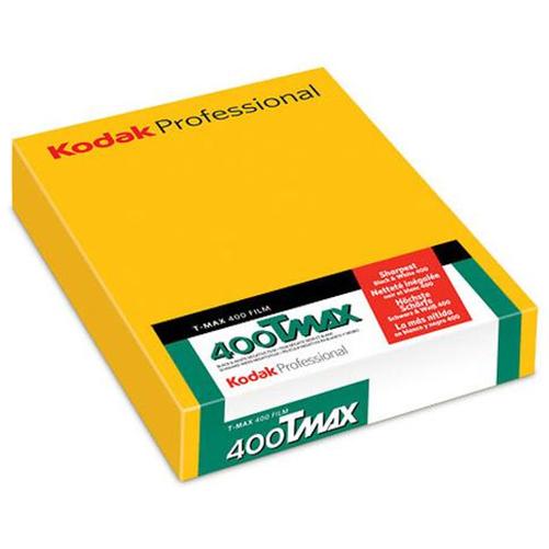 Kodak TMax 400 Professional 4x5 Sheet Film  50 Sheets