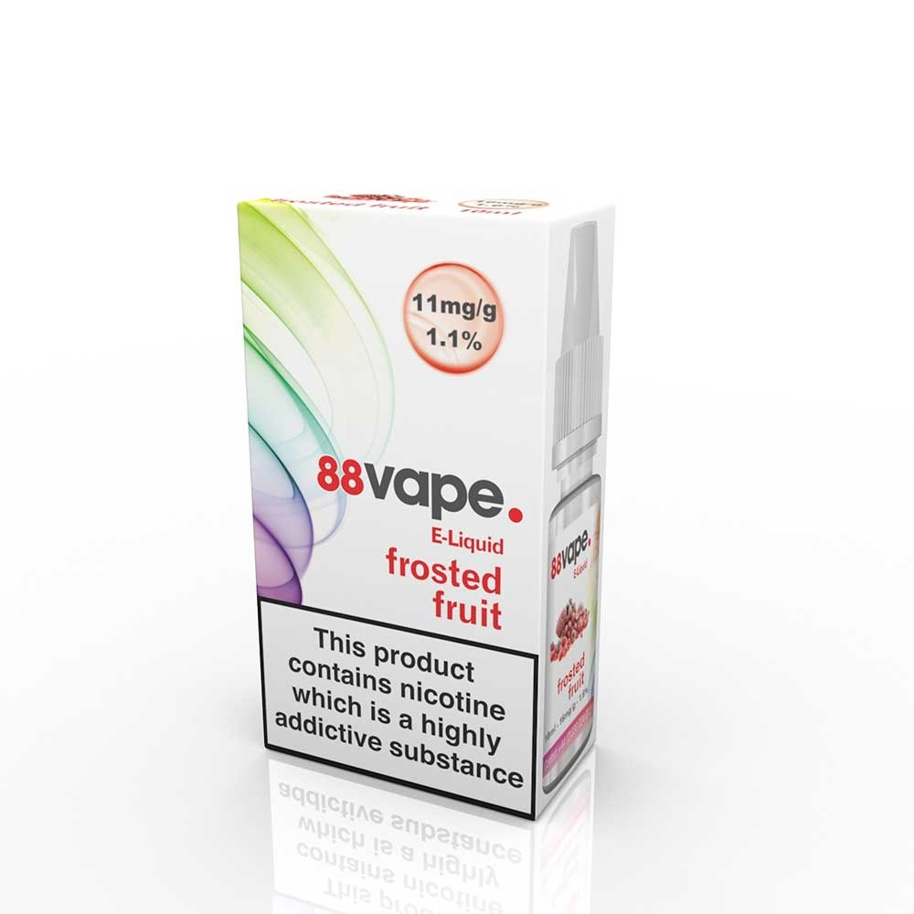 Compare prices for 88Vape E-Liquid Frosted FruitS 10ml - 11mg Nicotine - Extra Value 20 Pack