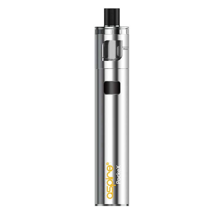 Aspire PockeX Premium E-cigarette kit - Silver lowest price