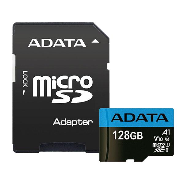 ADATA Premier Memory Card MicroSDXC 128GB Class 10 UHS-I