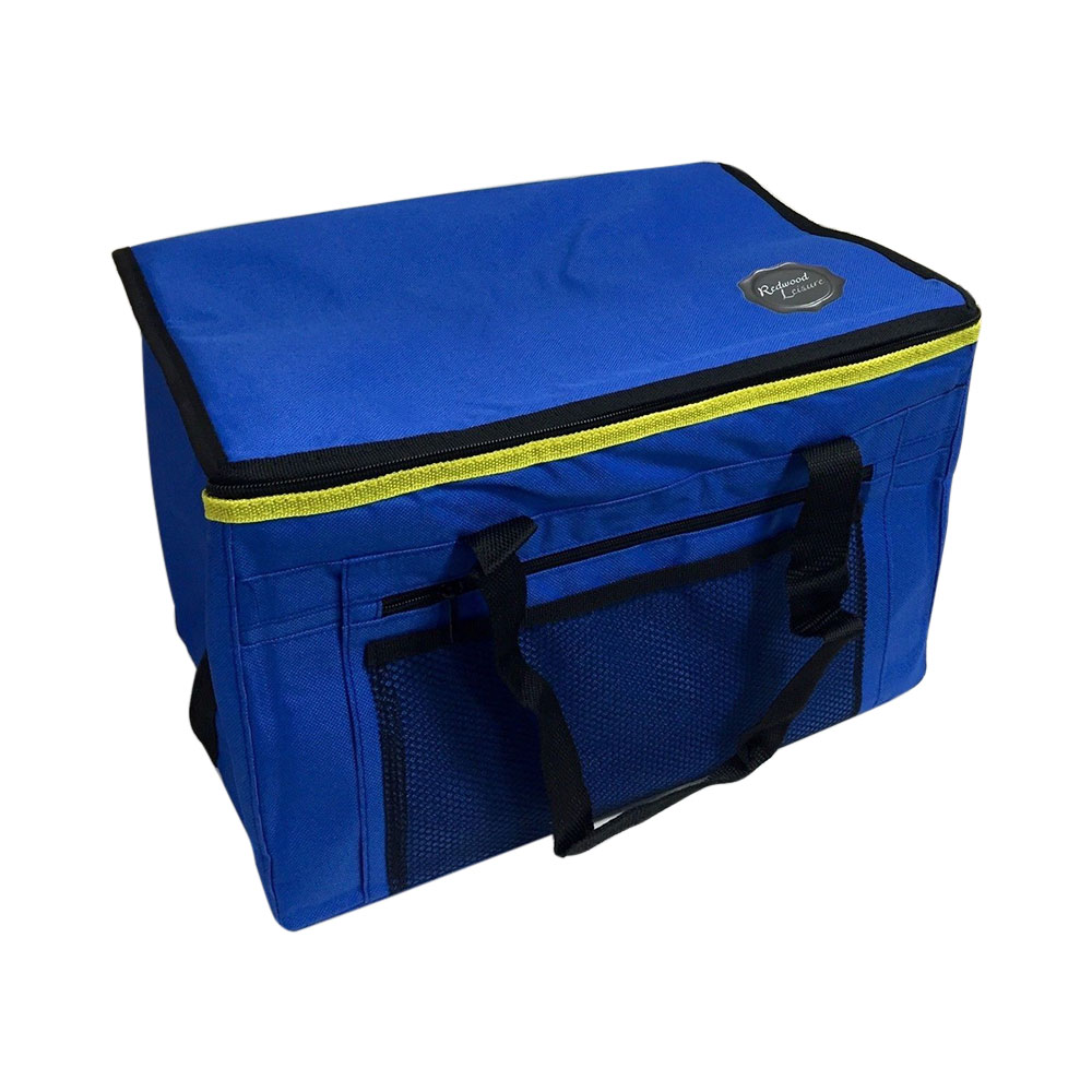 Compare retail prices of 24L 48 Can Insulated Cooler bag with Handles and Shoulder strap Picnics Beach Travel - Blue to get the best deal online