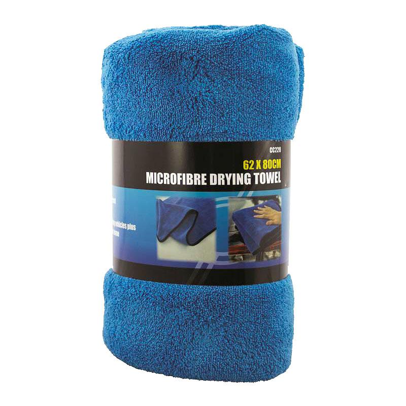 Pro User Microfibre Drying Towel Blue - 62 X 80cm