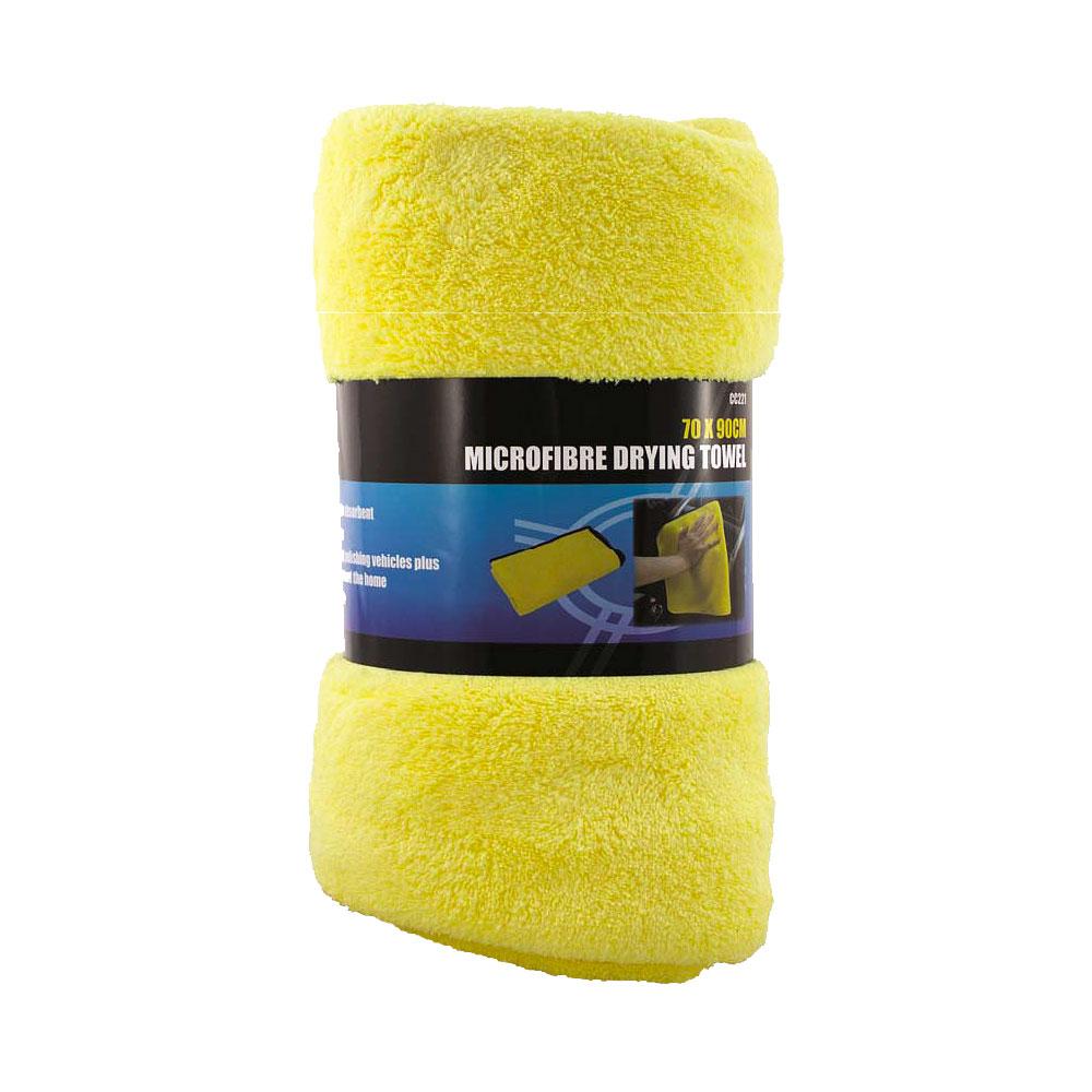 Pro User Microfibre Drying Towel Yellow - 70 X 90cm