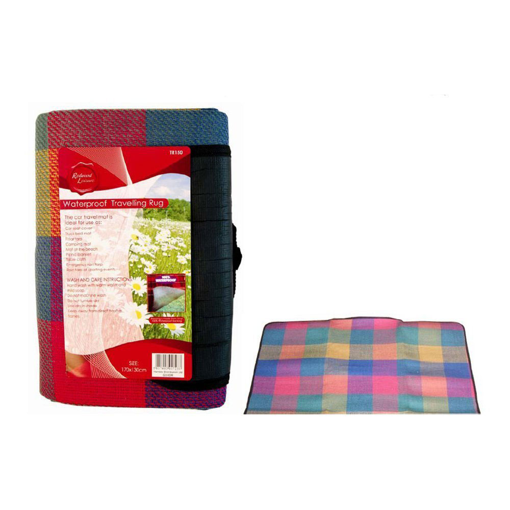 Compare prices for 170x130cm Large Waterproof Picnic Blanket Rug Travel Outdoor Beach Camping Mat