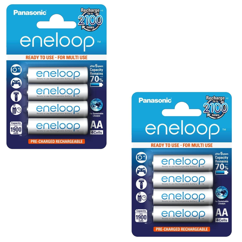 Panasonic Eneloop AA 8 Pack