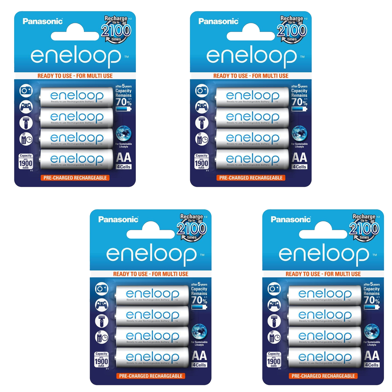 Panasonic Eneloop AA 16 Pack