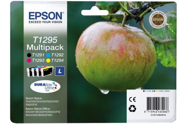 Epson Original T1295 Apple 32.2ml Extra Value 4 Colour Multipack