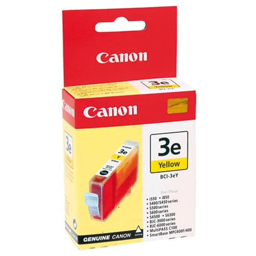 Canon Original BCI-3eY Ink Cartridge 13ml Yellow