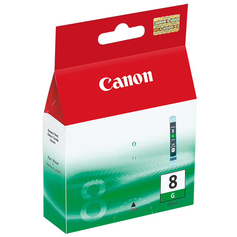 Compare retail prices of Canon CLI 8G - Ink tank - 1 x Green to get the best deal online